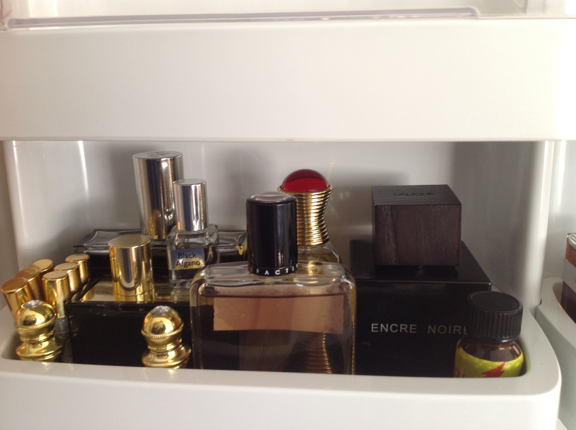 Can I put my perfume in the fridge?