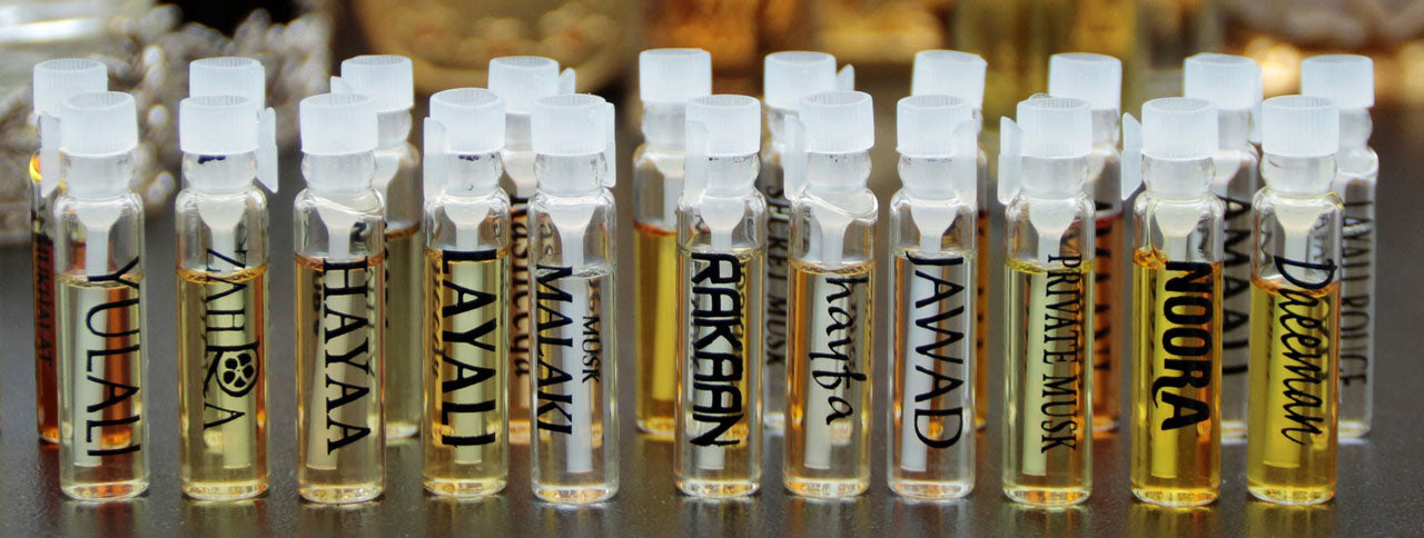 Attar Samples - An Aromatic Discovery Journey