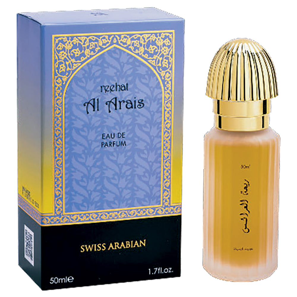 Reehat Al Arais Eau de Parfum 50mL (1.7 oz) by Swiss Arabian