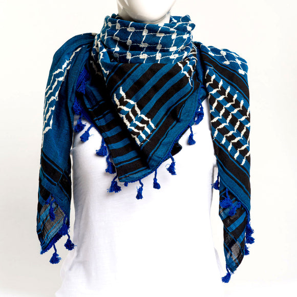 Authentic Hand Loomed Shawl (Azura)