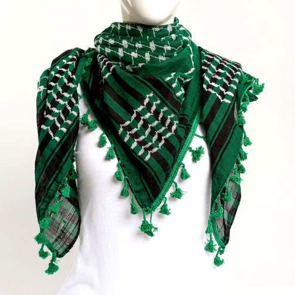 Authentic Hand Loomed Shawl (Emerald)