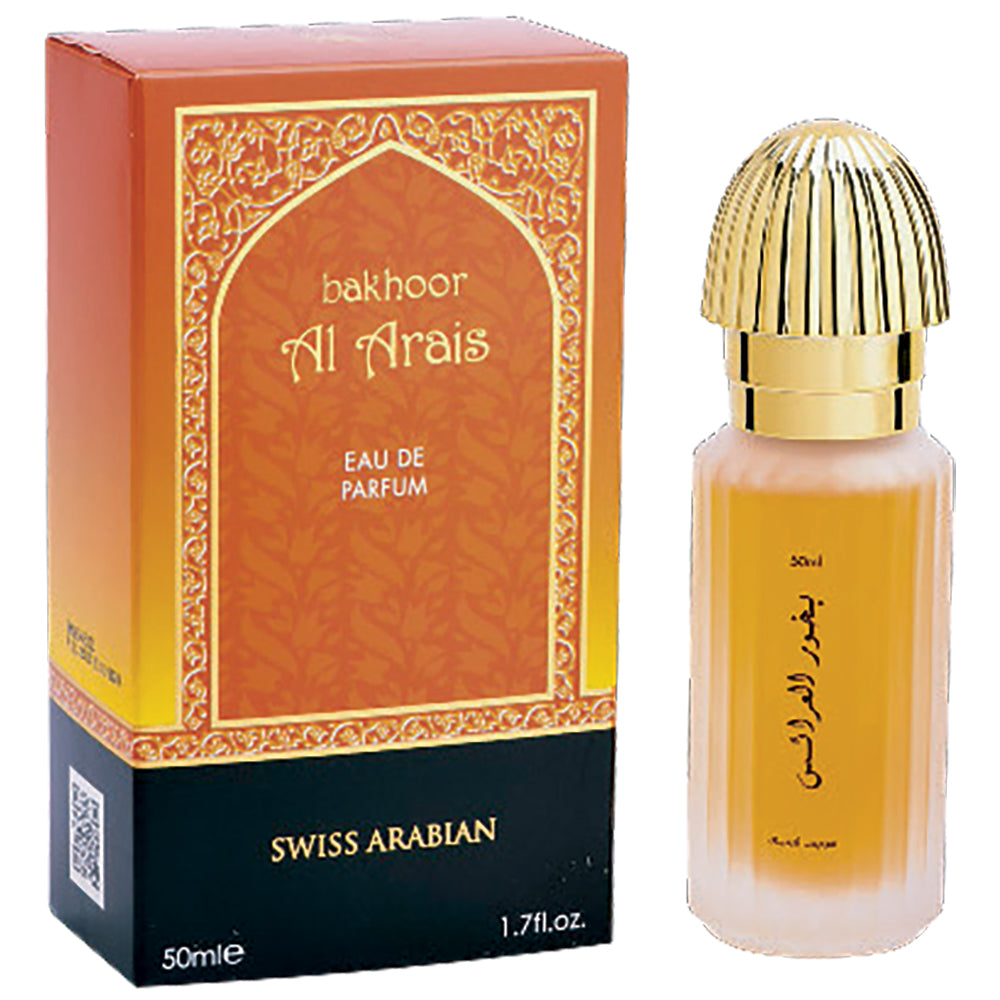 Bakhoor Al Arais Eau de Parfum 50mL (1.7 oz) by Swiss Arabian