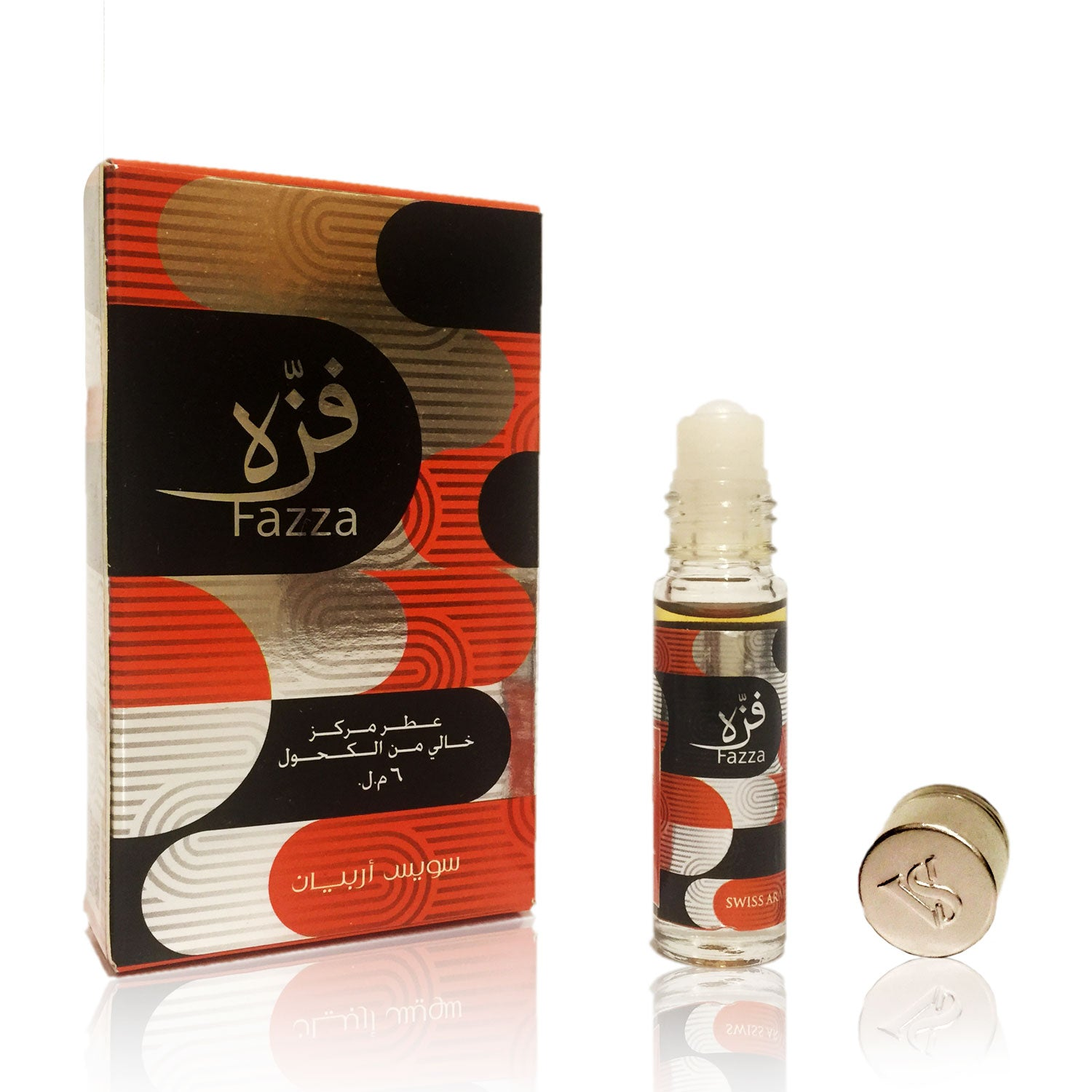 FAZZA, Roll On Perfume Oil 6 mL (.2 oz) | Floral, Woody and Spicy