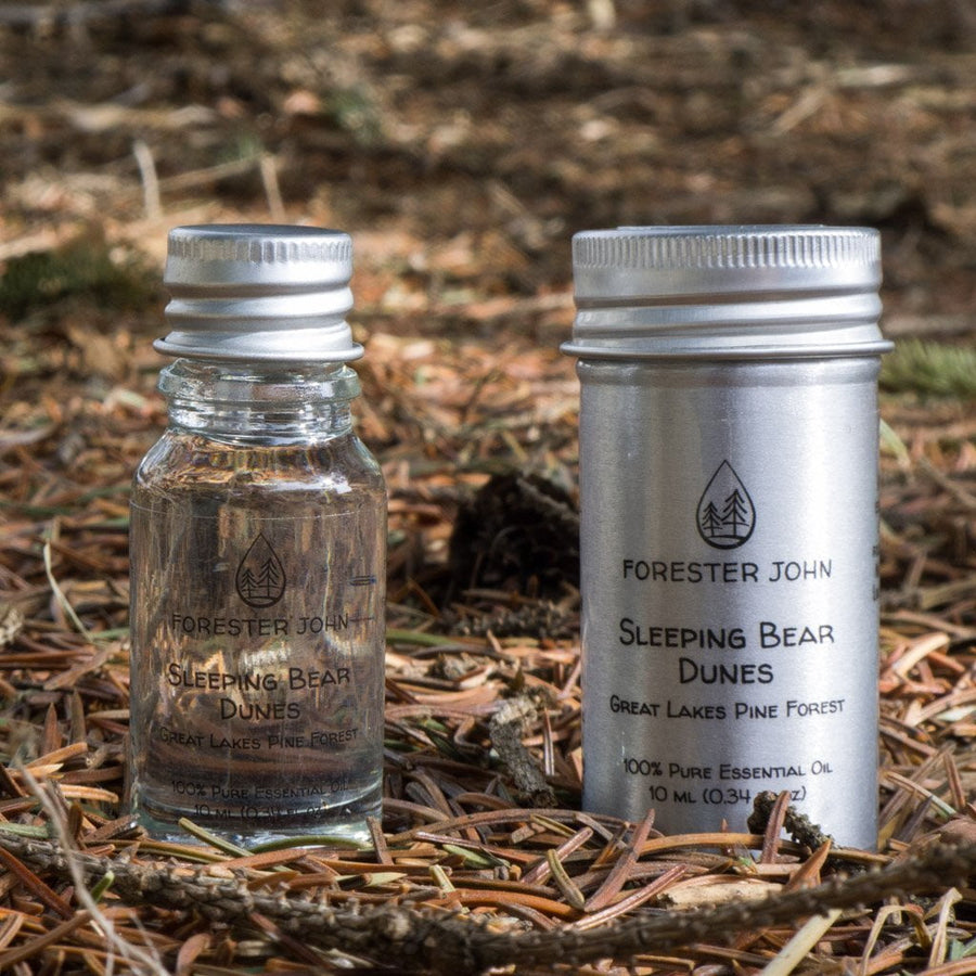Sleeping Bear Dunes: Great Lakes Pine Forest Essential Oil Blend  by Forester John