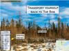 Poster showing Sax-Zim bog forest by Forester John Essential Oils