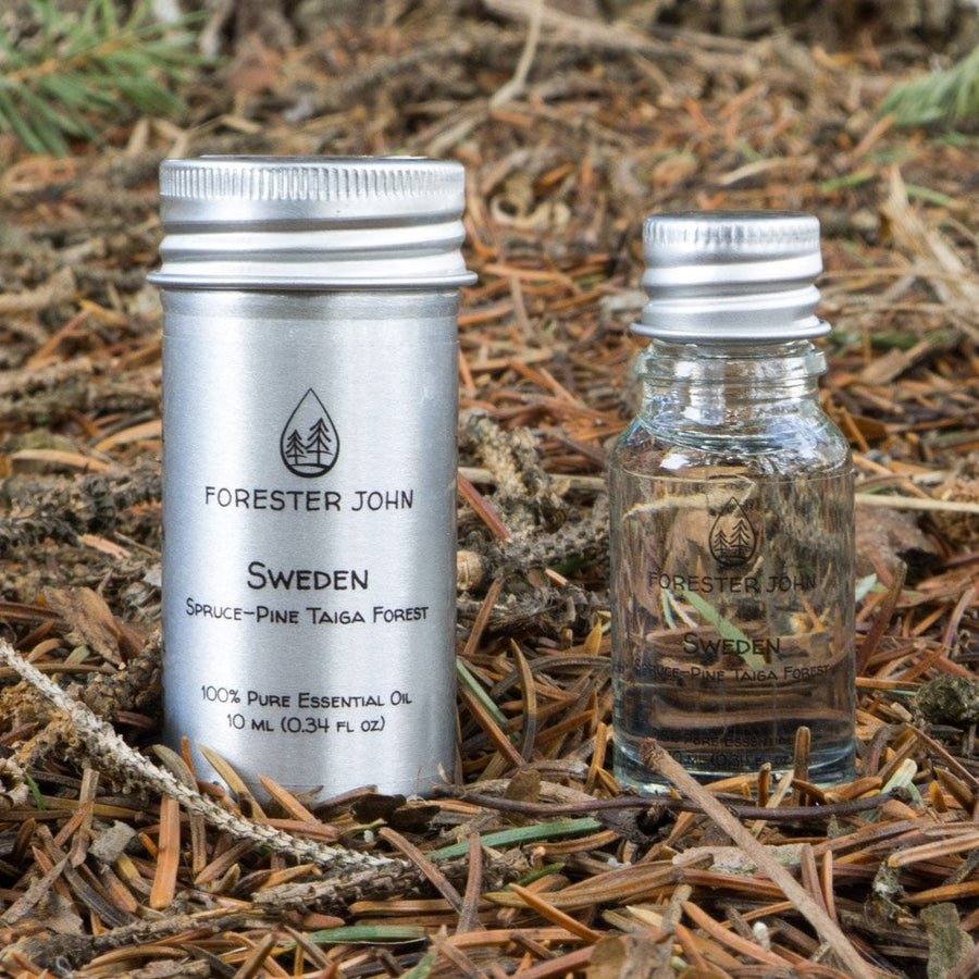 Sweden: Spruce-Pine Taiga Forest Essential Oil Blend by Forester John