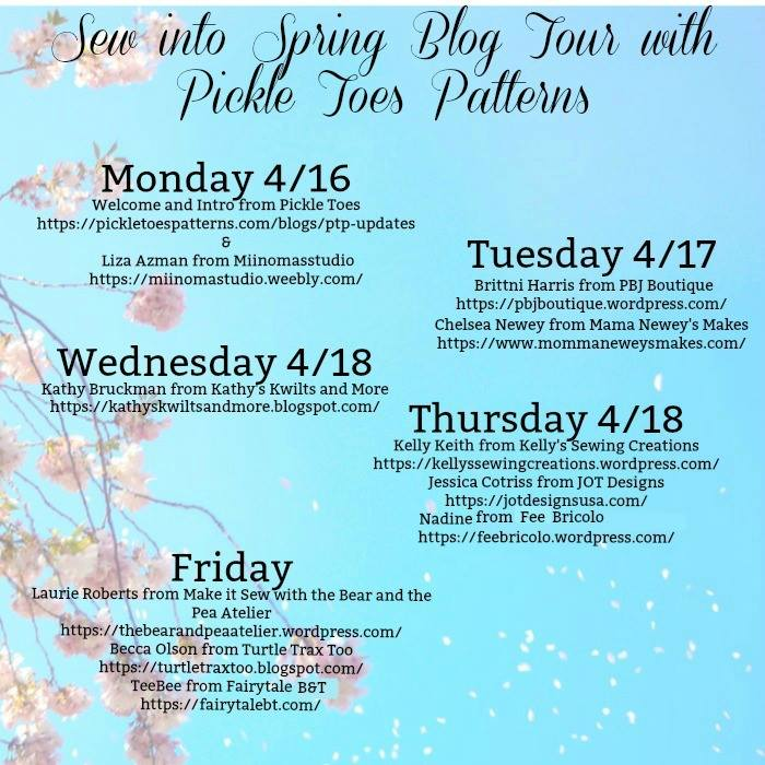 Sew into Spring Blog Tour and Giveaway