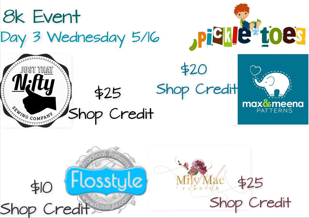 Wednesday is here! Great Prizes for Today!