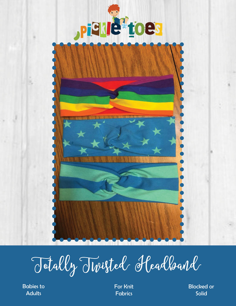 Totally Twisted Headband Freebie