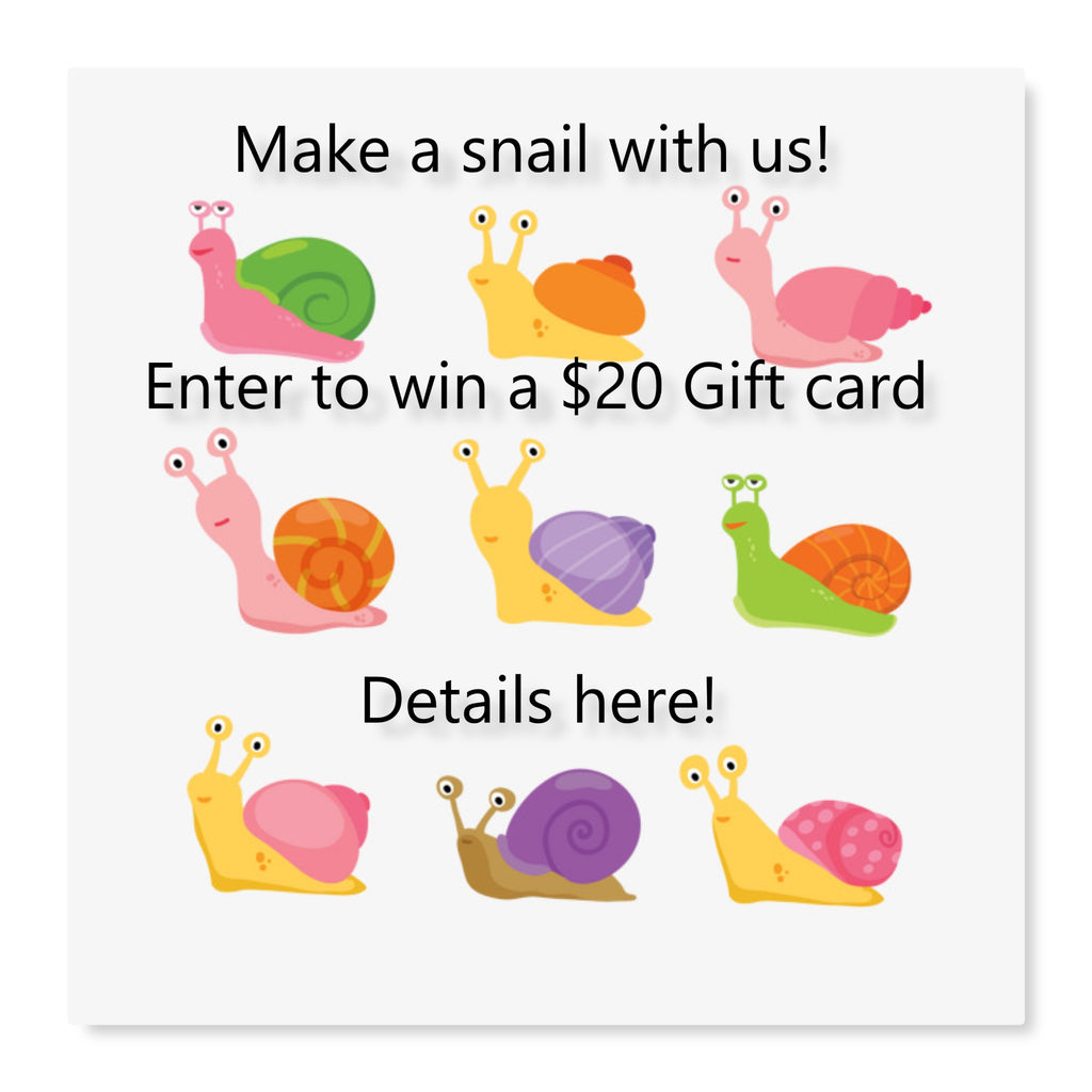 Snail Craft Ideas! The SnailHunters are Live!