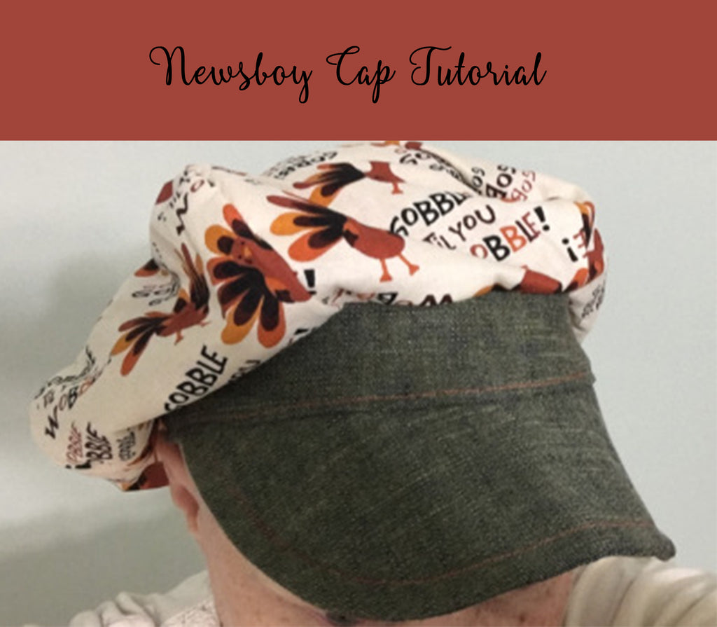 Newsboy Cap Tutorial