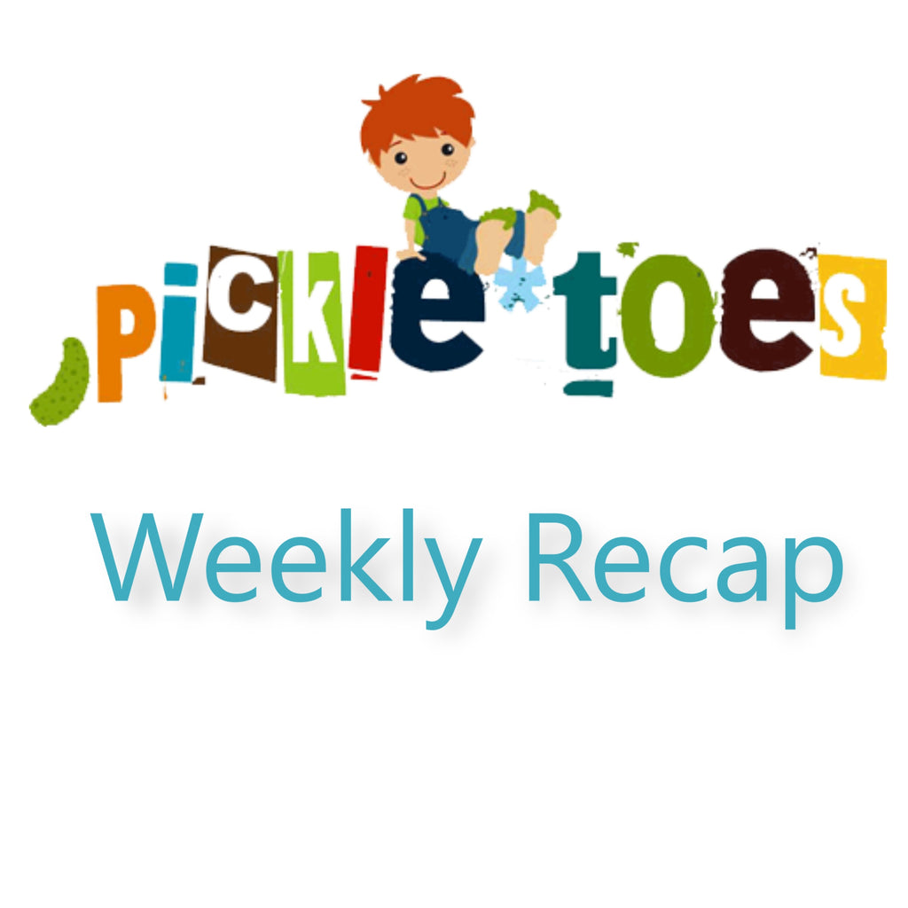 Weekly Re-Cap 4/24/18 from Pickle Toes Patterns Team
