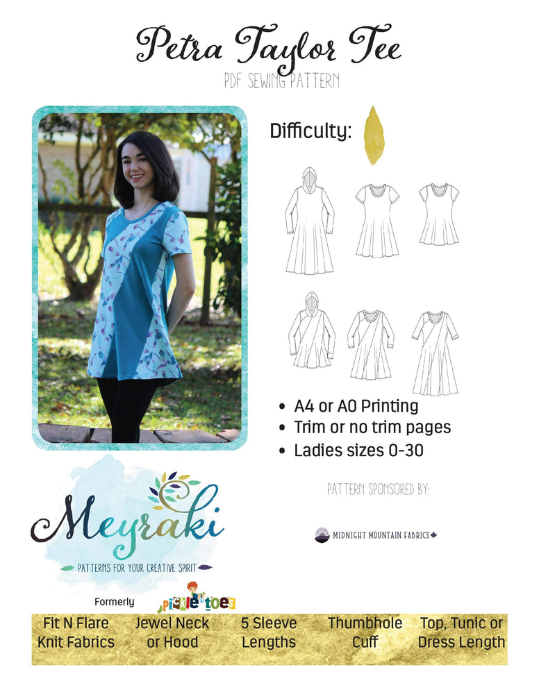 Petra Taylor Ladies Tee/Tunic/Dress