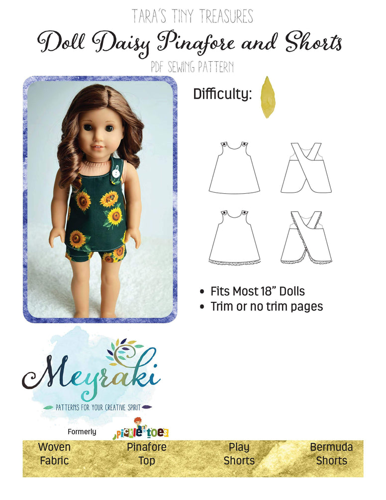 Daisy Pinafore Doll
