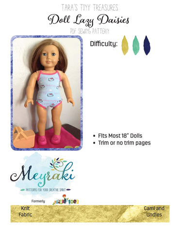 Doll Lazy Daisies