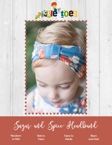 Sugar and Spice Headband