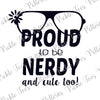 CutUps Nerdy and Cute