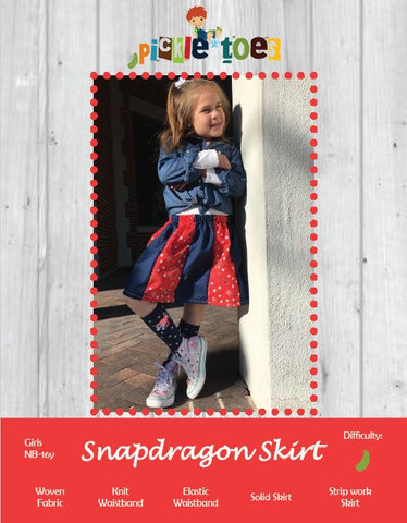 Snapdragon Skirt Girls