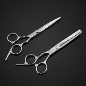 professional hairdressing scissors set 6 inches beauty salon cutting thinning hair shears barbershop styling tools