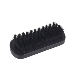 Boar Hair Bristle Black Mustache Brush Beard Care Beard Brush Gifts Shaving Brush Men Face Massager Soft Portable Fashion