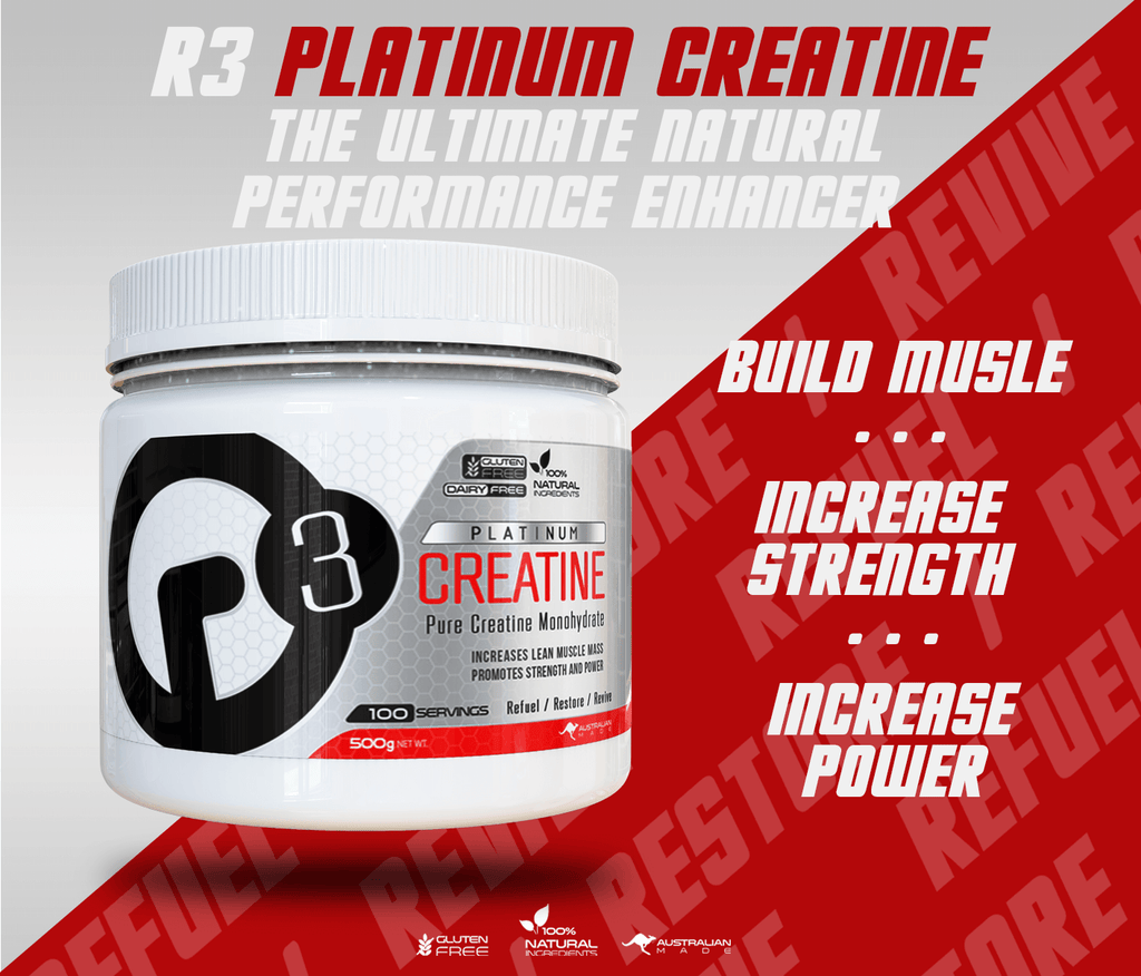 Creatine - The natural performance enhancer!