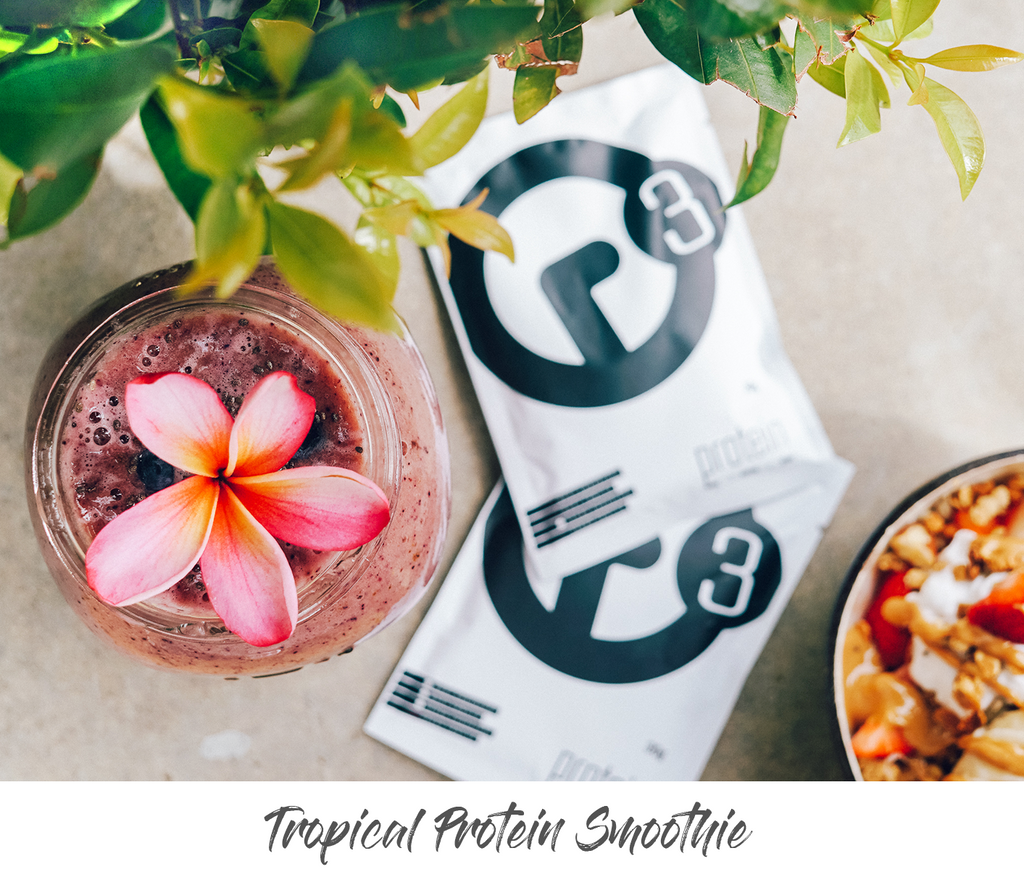 R3 Tropical Protein Smoothie