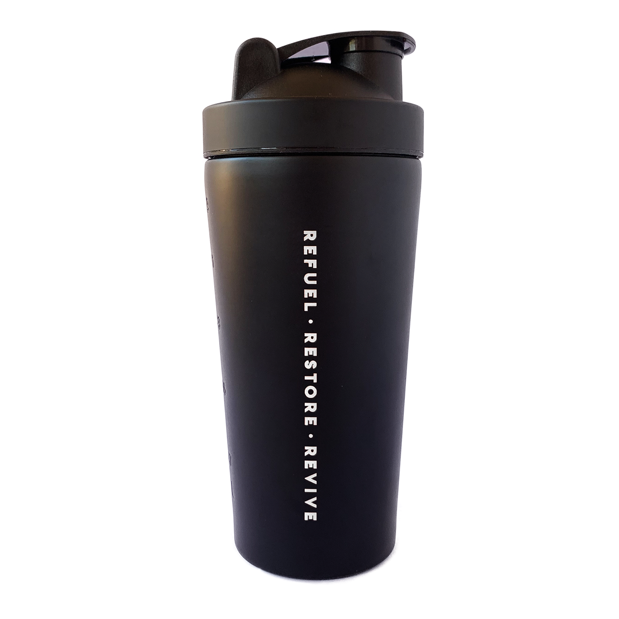 Matte Black Stainless Steel Shaker