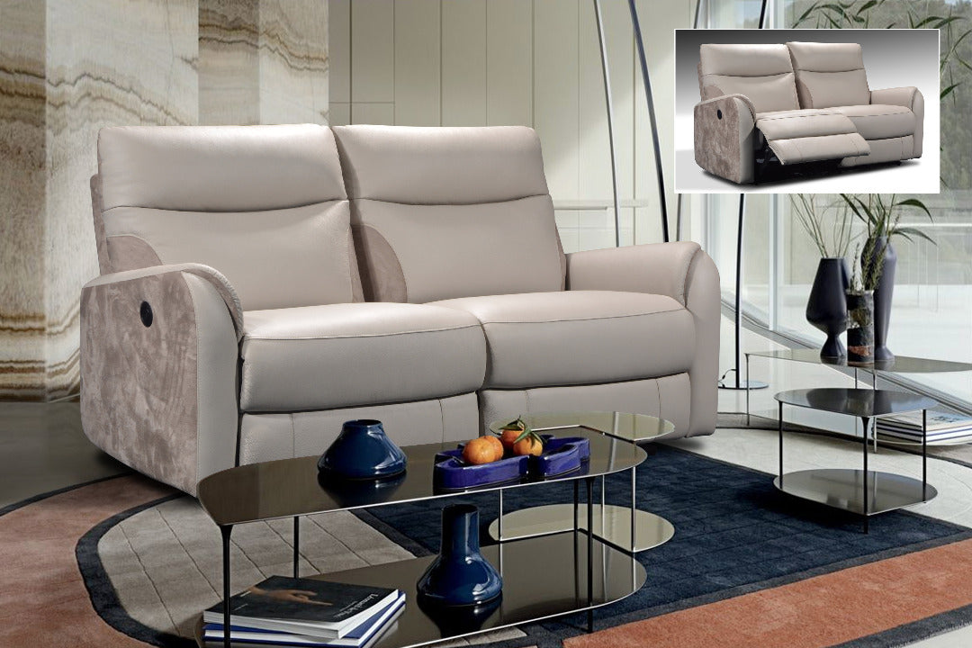 3+2 seaters Incliners Sofa (Manual)