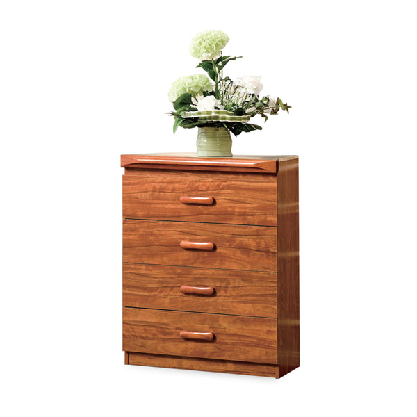 Modeste Chest Of 4 Drawers With Flip-Up Mirror