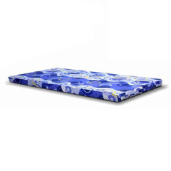 Viro Lion Foldable Foam Mattress 3 Feet Single (Blue)