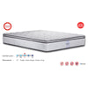 "Viro Devon Spring Mattress (6 Feet King Size x 12"" Thickness)"