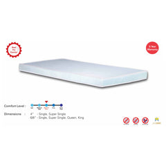 Viro Night Angel Non-quilted Foam Mattress (3.5 Feet Super Single Size x 6