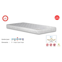 Viro Night Angel Quilted Foam Mattress (3.5 Feet Super Single Size x 5