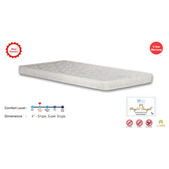 Viro Night Angel Rebonded Foam Mattress (3.5 Feet Super Single Size x 4