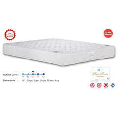 Viro Sleep Master Pocketed Spring Mattress (3.5 Feet Super Single Size x 10