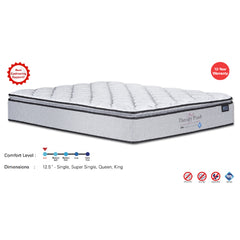 Viro Soft Therapy Plush Pocketed Spring Mattress (3.5 Feet Super Single Size x 12.5