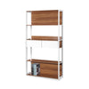 Amedeo Book Cabinet With Storage Shelves