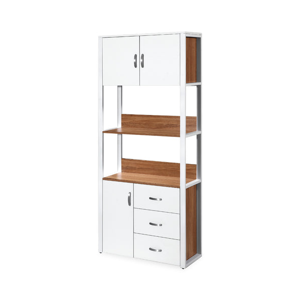 Amando Book Cabinet With Storage Shelves