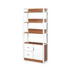 Ambra Book Cabinet With Storage Shelves