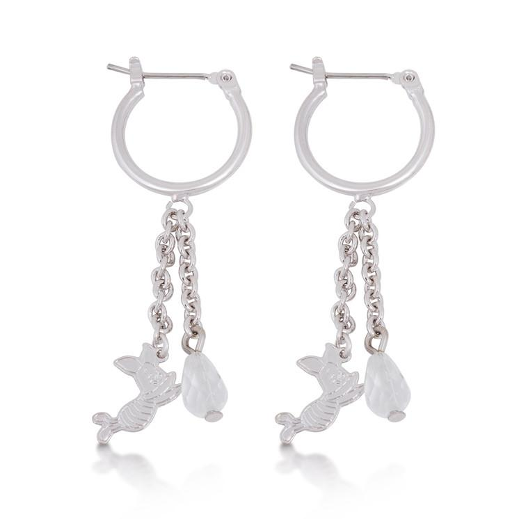 Disney Winnie the Pooh Piglet Drop Earrings