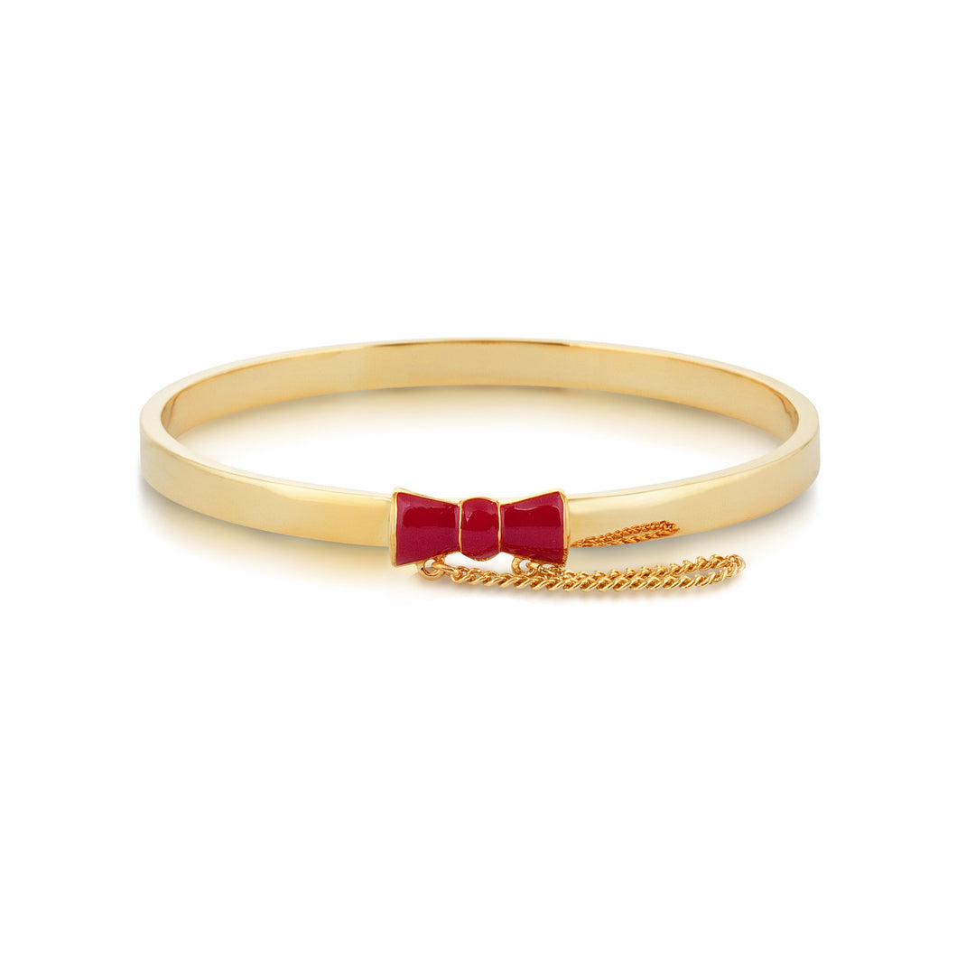Disney Minnie Mouse Red Bow Bangle