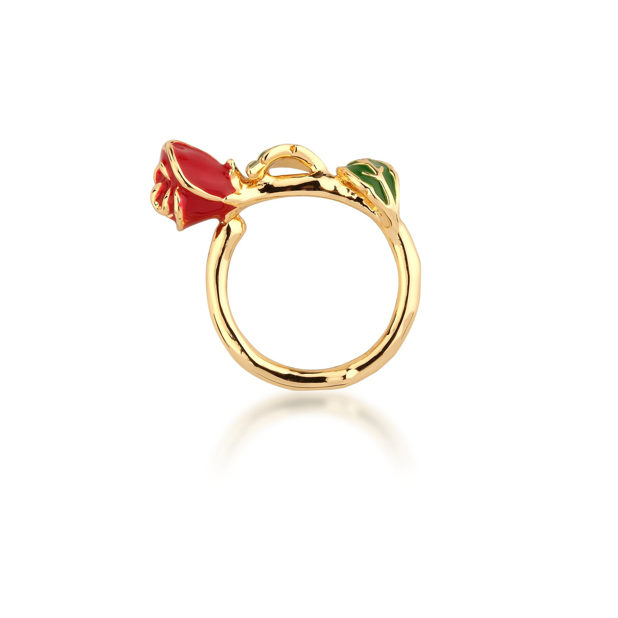 Disney Beauty And The Beast Rose Ring The Diamond Vault Jewellers