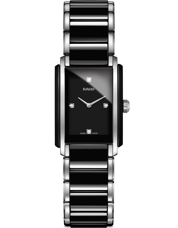 RADO INTEGRAL - DIAMONDS QUARTZ WATCH - R20613712