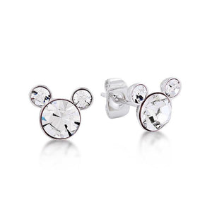 Disney Mickey April Birthstone Stud Earrings
