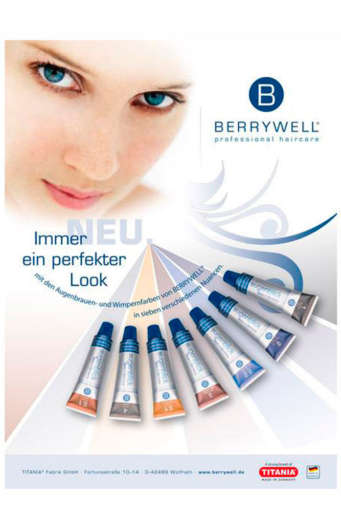 Berrywell Eyebrow and Eyelash Tint 15ml
