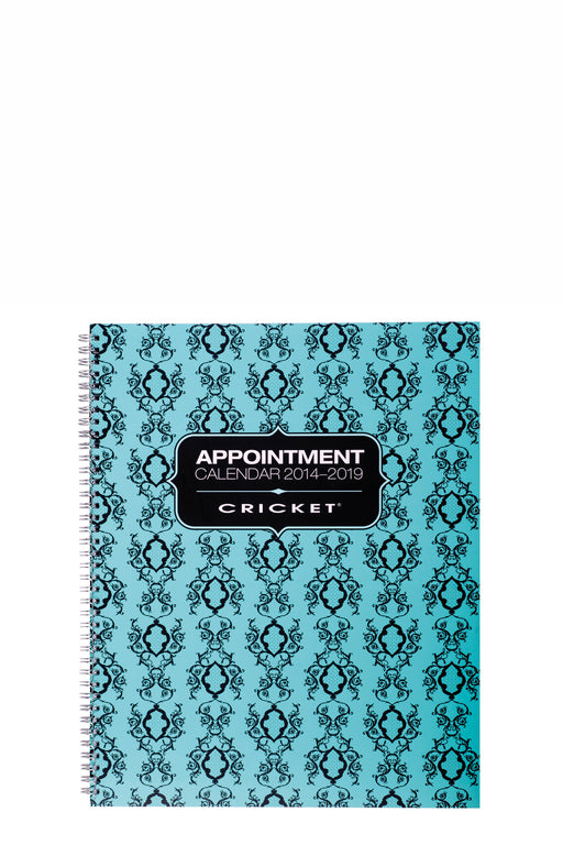 Cricket 4 Column Appointment Book