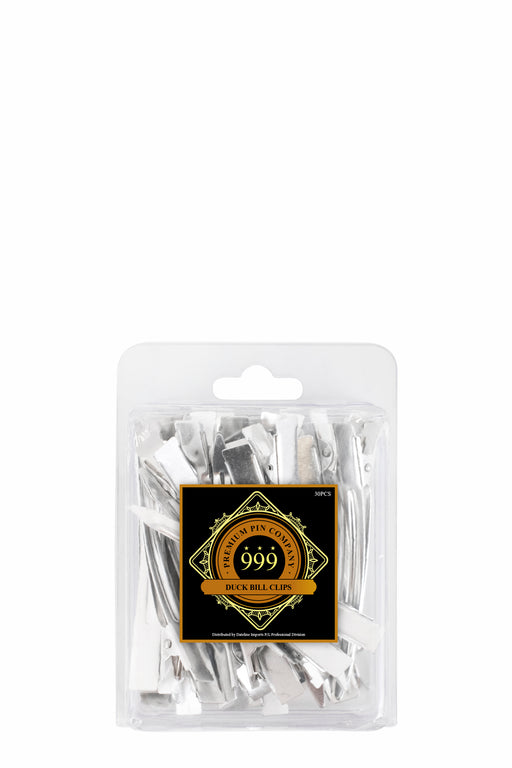 Premium Pin Company 999 Steel Duck Bill Clips 30pc