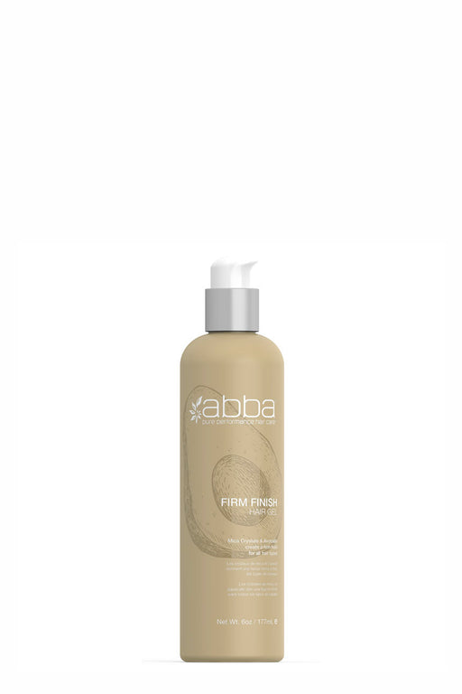 Abba Firm Finish Hair Gel 177ml