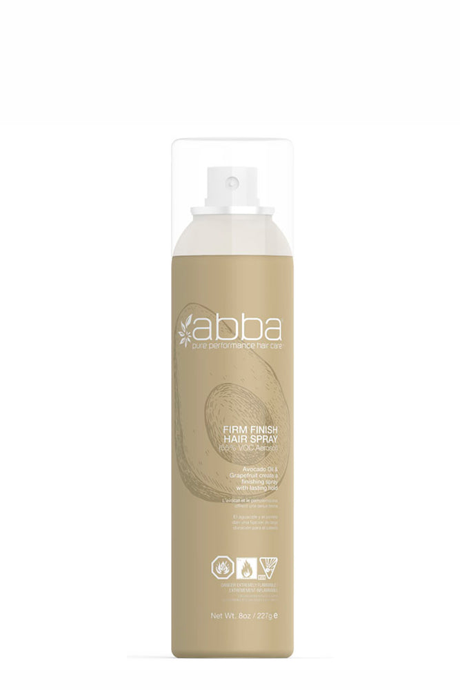 Abba Firm Finish Hair Spray (Aerosol) 227g