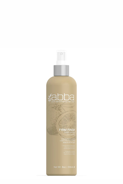 Abba Firm Finish Hair Spray (Non-Aerosol) 236ml